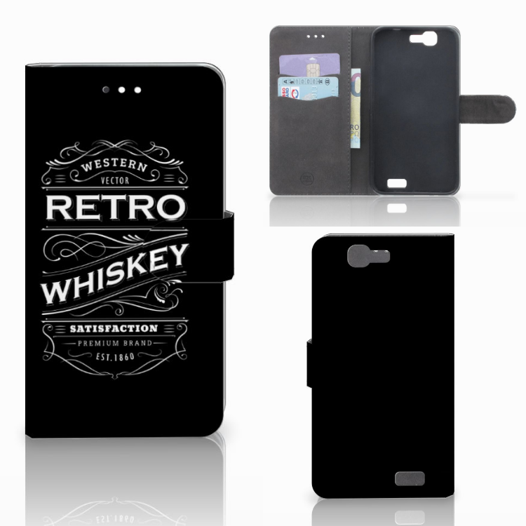 Huawei Ascend G7 Book Cover Whiskey