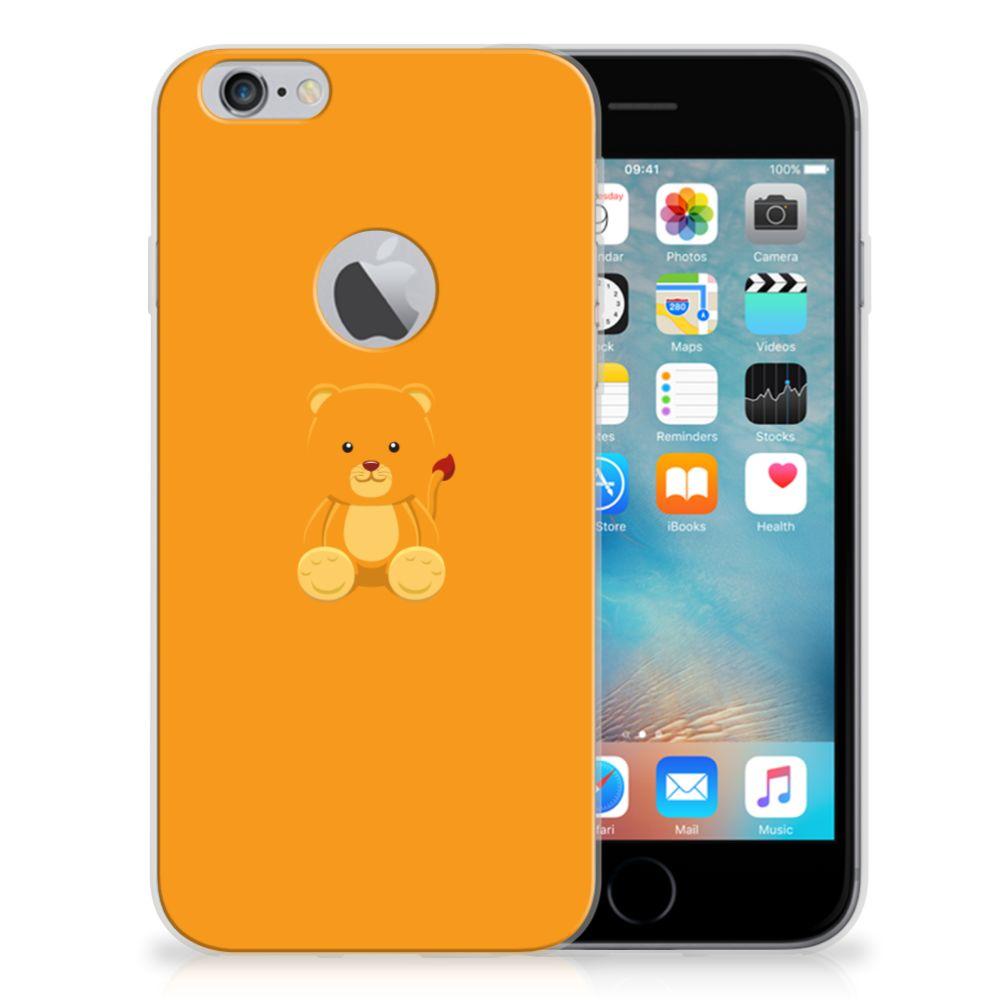 Apple iPhone 6 Plus | 6s Plus Telefoonhoesje met Naam Baby Beer
