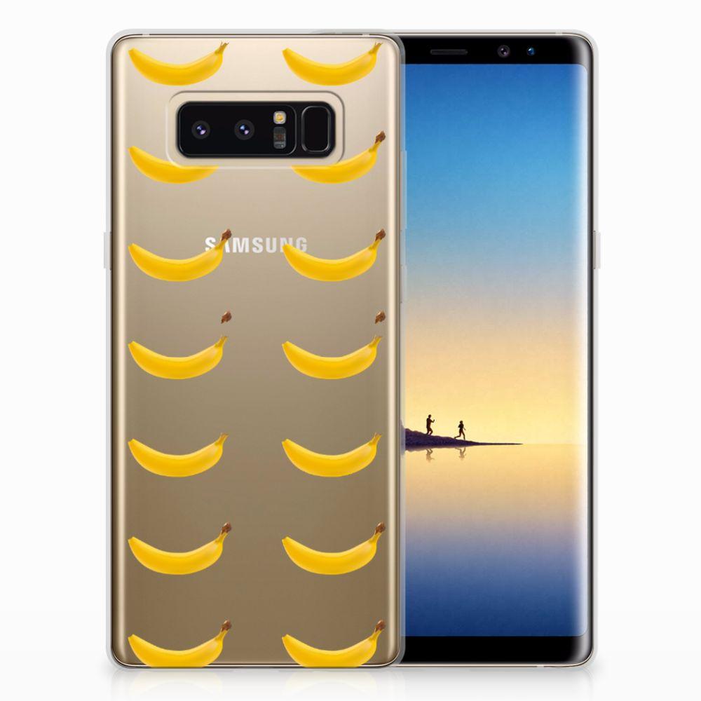 Samsung Galaxy Note 8 Uniek TPU Hoesje Banana