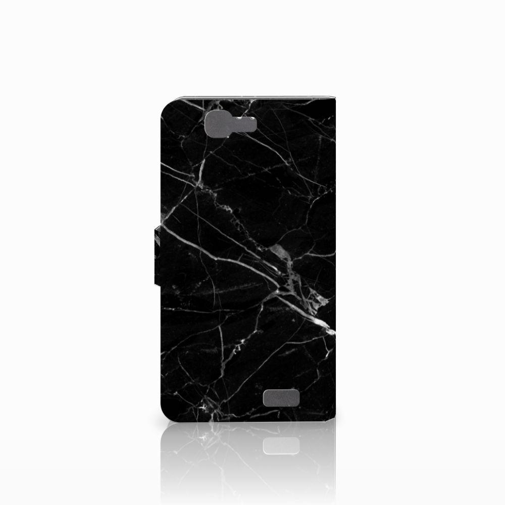 Huawei Ascend G7 Bookcase Marmer Zwart