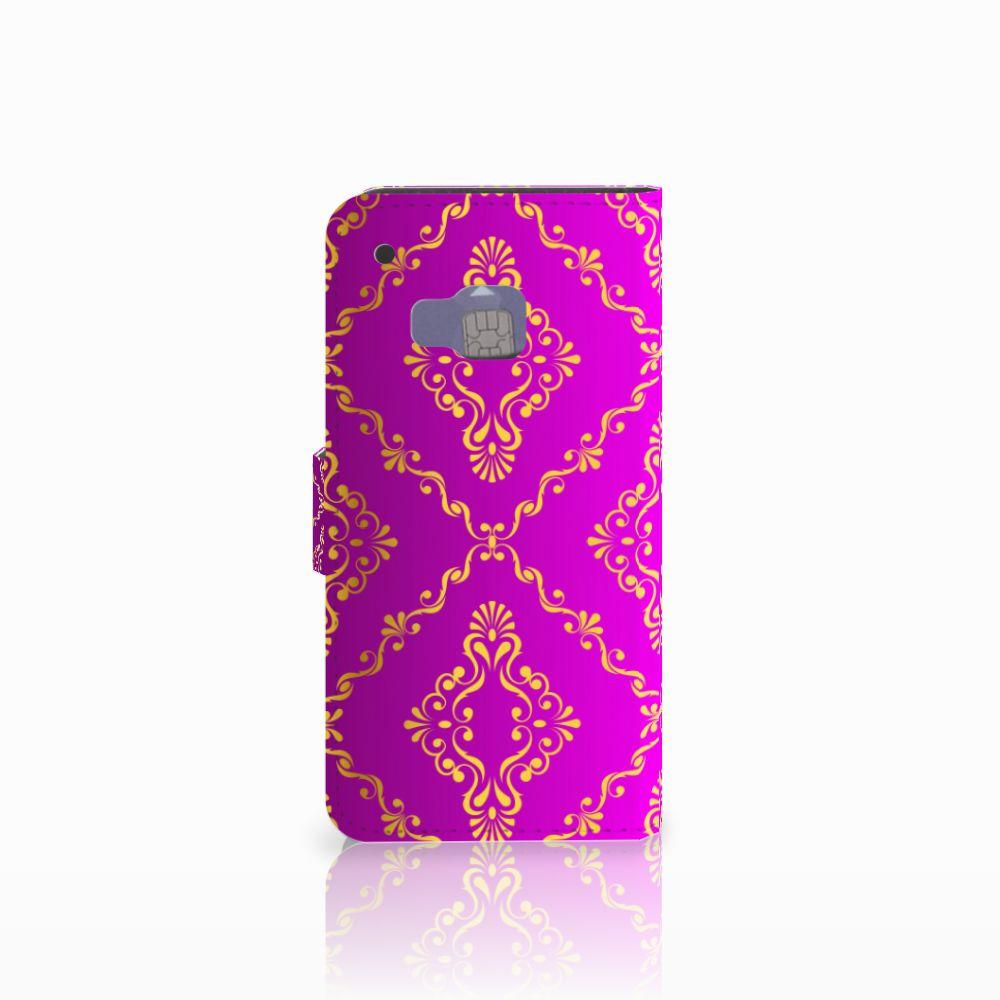 Wallet Case HTC One M9 Barok Roze