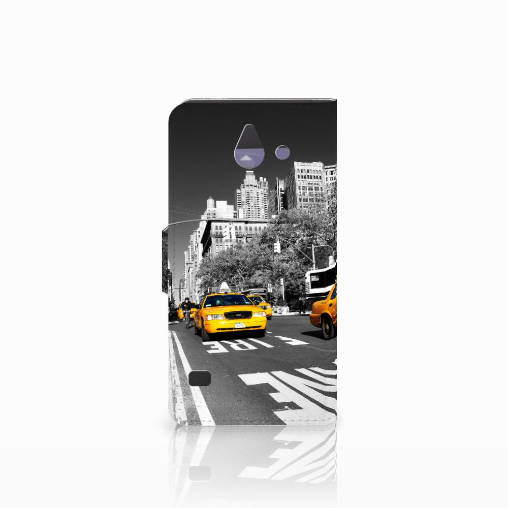 Huawei Ascend Y550 Flip Cover New York Taxi