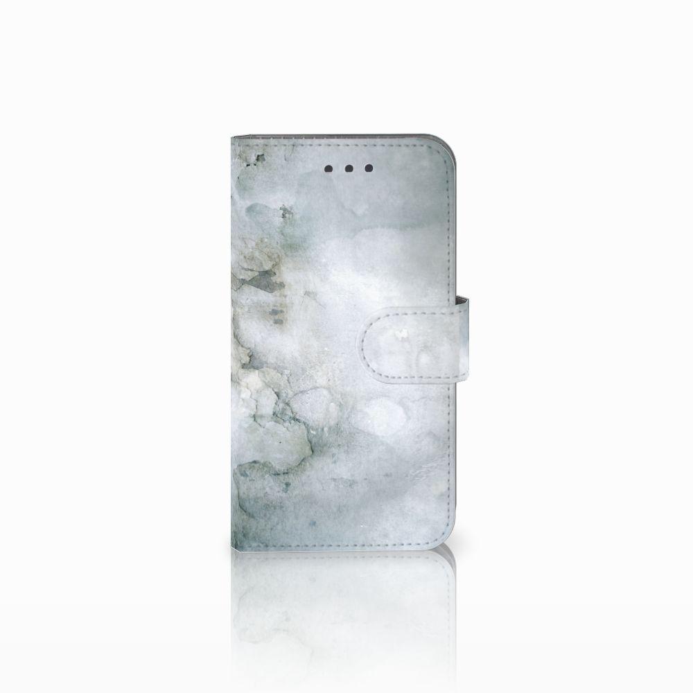 Samsung Galaxy Xcover 3 | Xcover 3 VE Uniek Boekhoesje Painting Grey