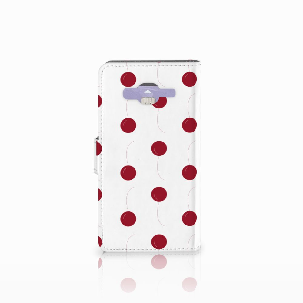 Samsung Galaxy J5 (2015) Book Cover Cherries