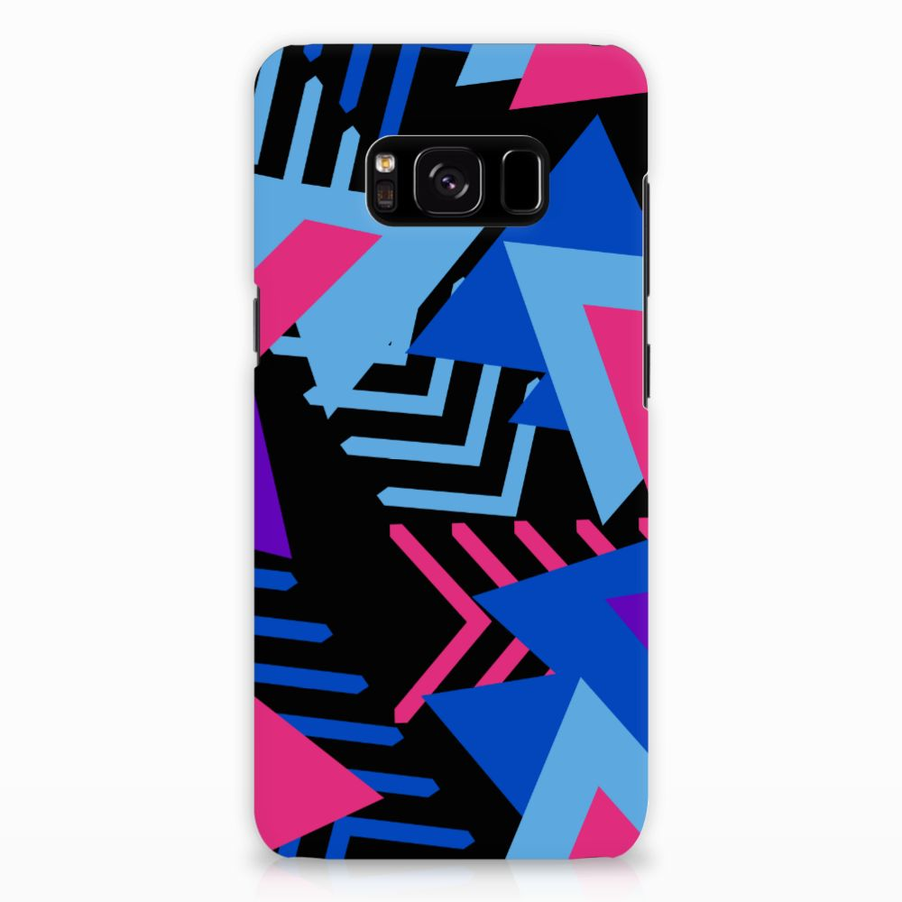 Samsung Galaxy S8 Rubber Case Funky Triangle