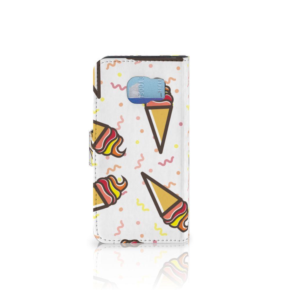 Samsung Galaxy S6 | S6 Duos Book Cover Icecream