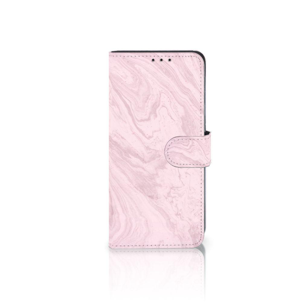 Huawei Mate 20 Lite Boekhoesje Marble Pink