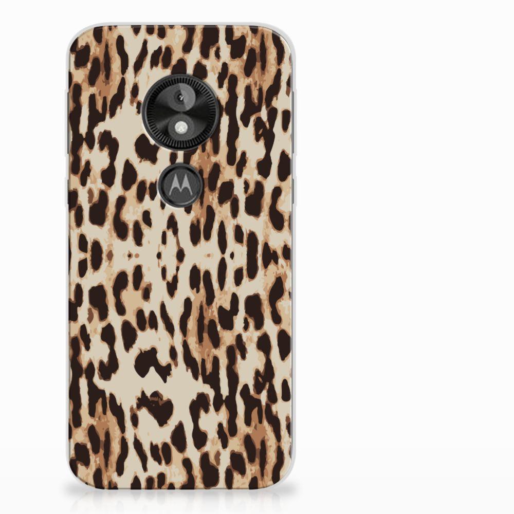 Motorola Moto E5 Play Uniek TPU Hoesje Leopard