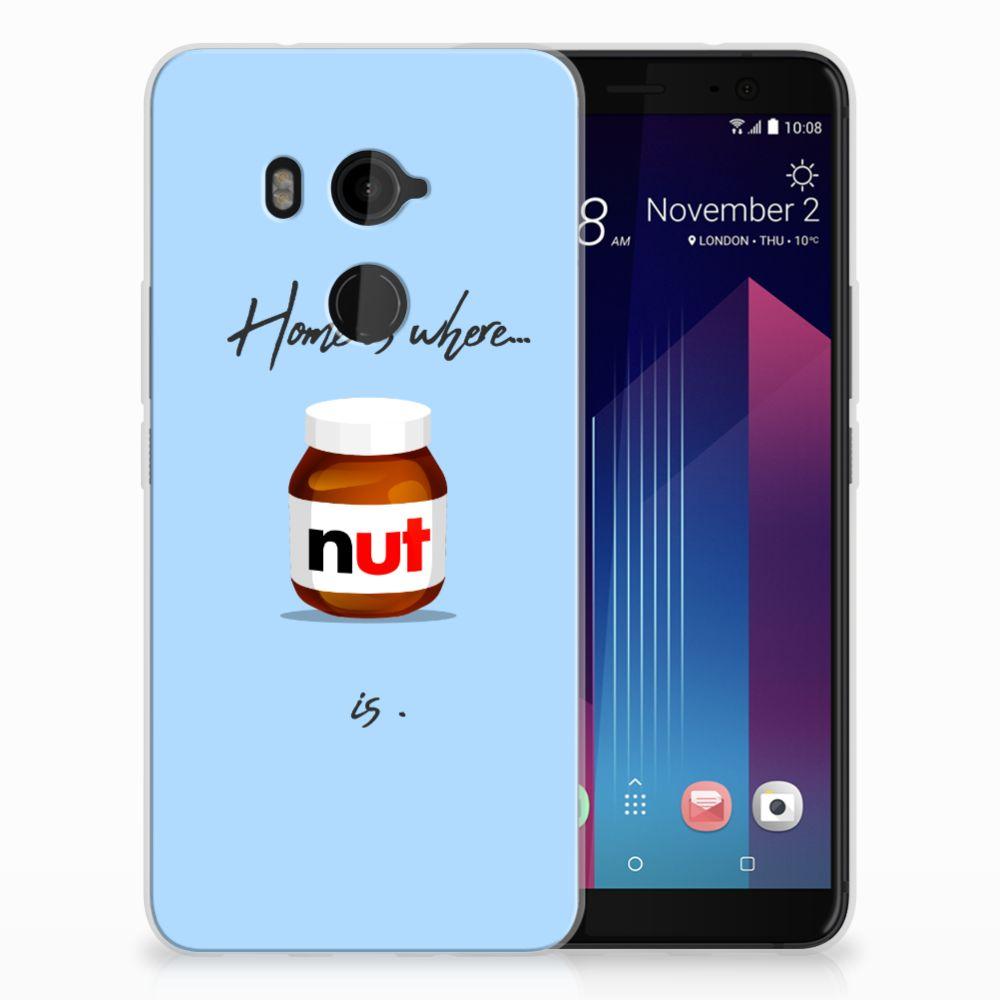 HTC U11 Plus Siliconen Case Nut Home