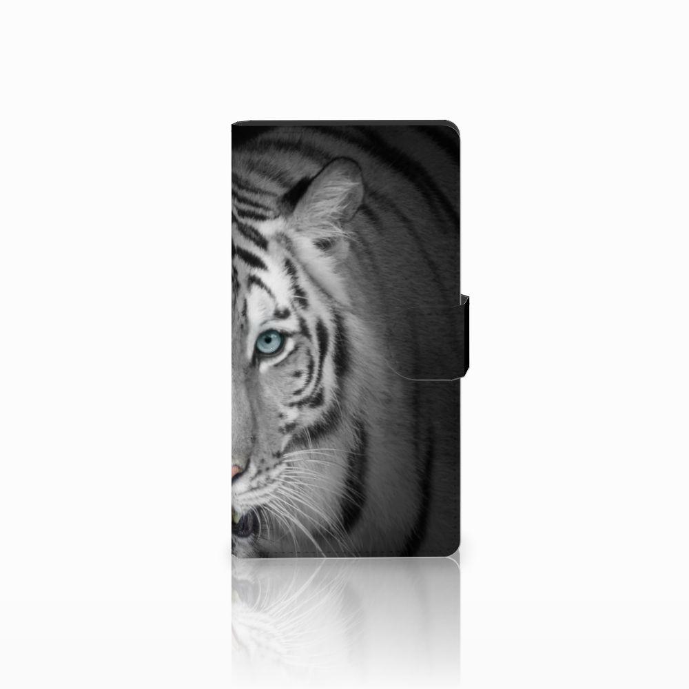 Sony Xperia C4 Uniek Boekhoesje Tijger