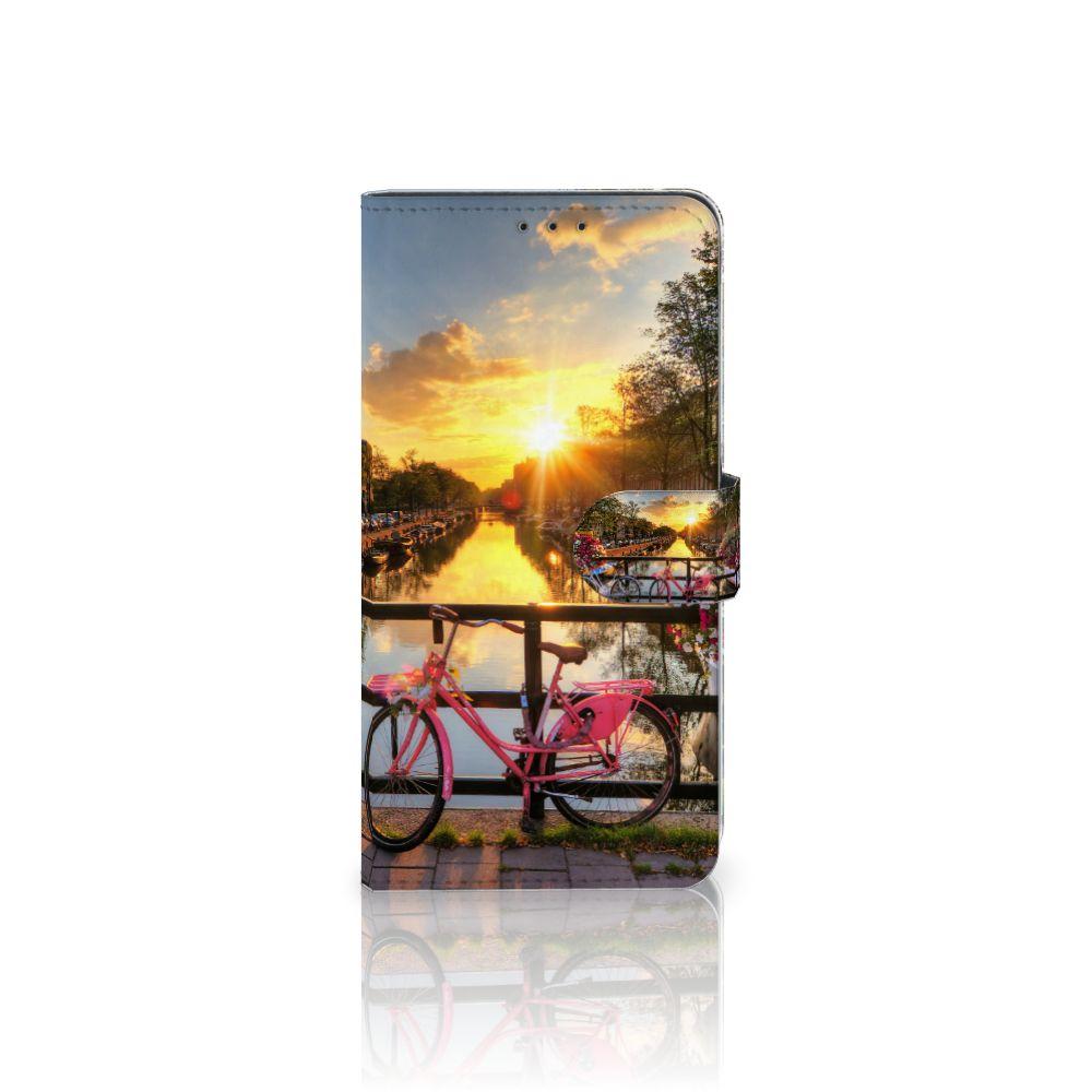 Samsung Galaxy A8 Plus (2018) Uniek Boekhoesje Amsterdamse Grachten
