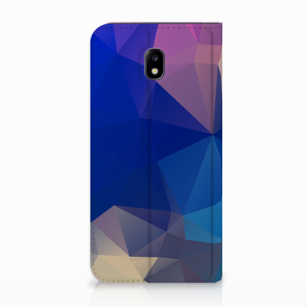 Samsung Galaxy J5 2017 Uniek Standcase Hoesje Polygon Dark