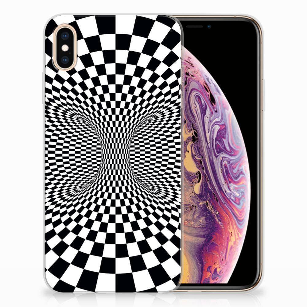 Apple iPhone Xs Max TPU Hoesje Design Illusie
