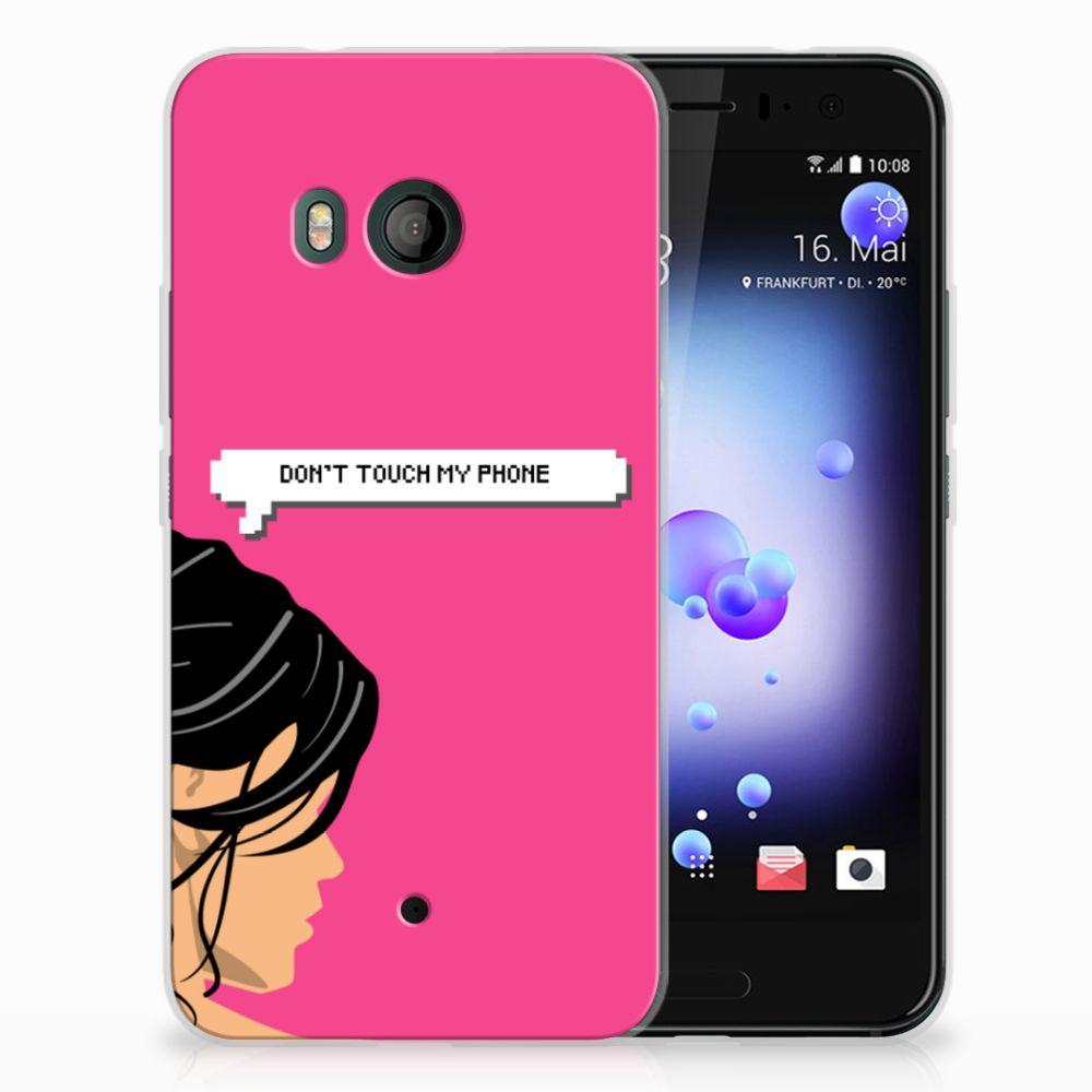 HTC U11 Uniek TPU Hoesje Woman DTMP