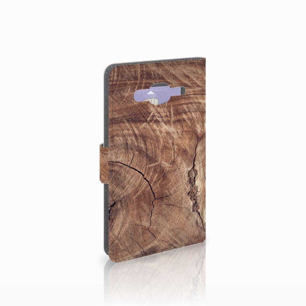 Samsung Galaxy J5 (2015) Boekhoesje Design Tree Trunk