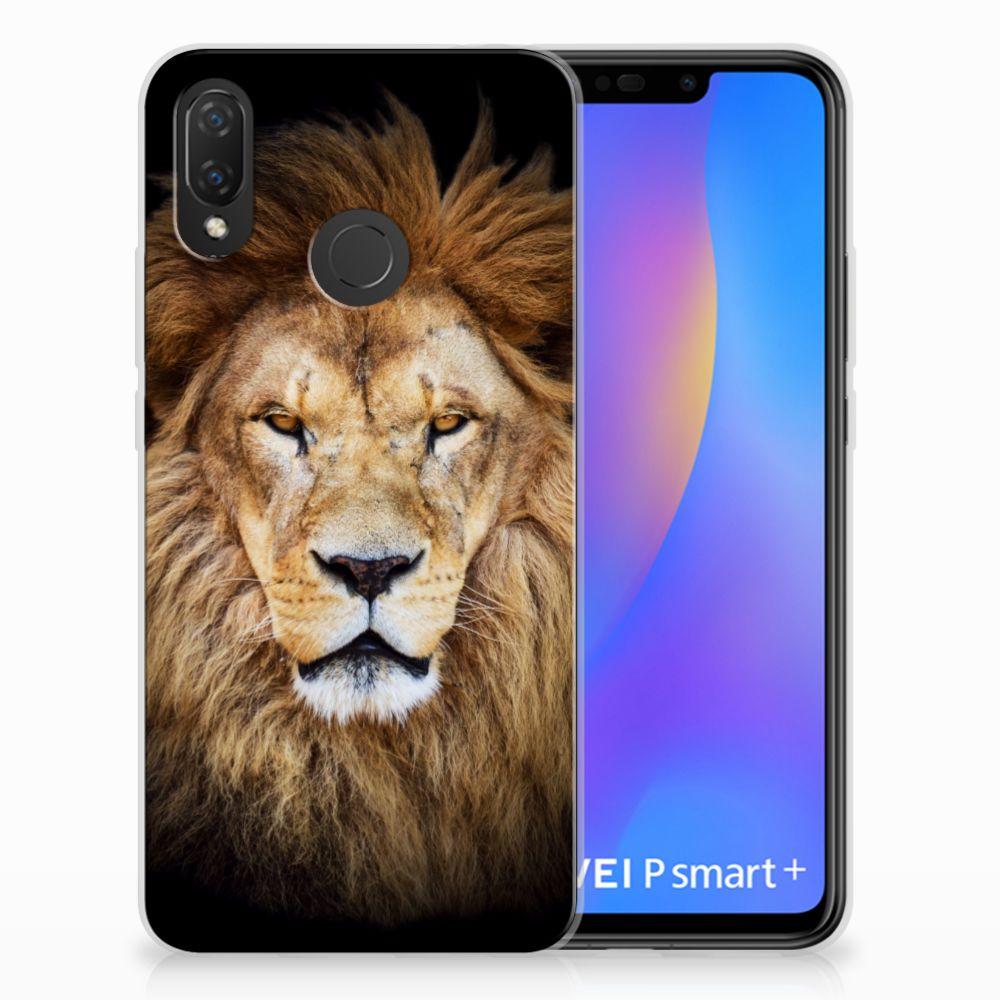 Huawei P Smart Plus TPU Hoesje Design Leeuw