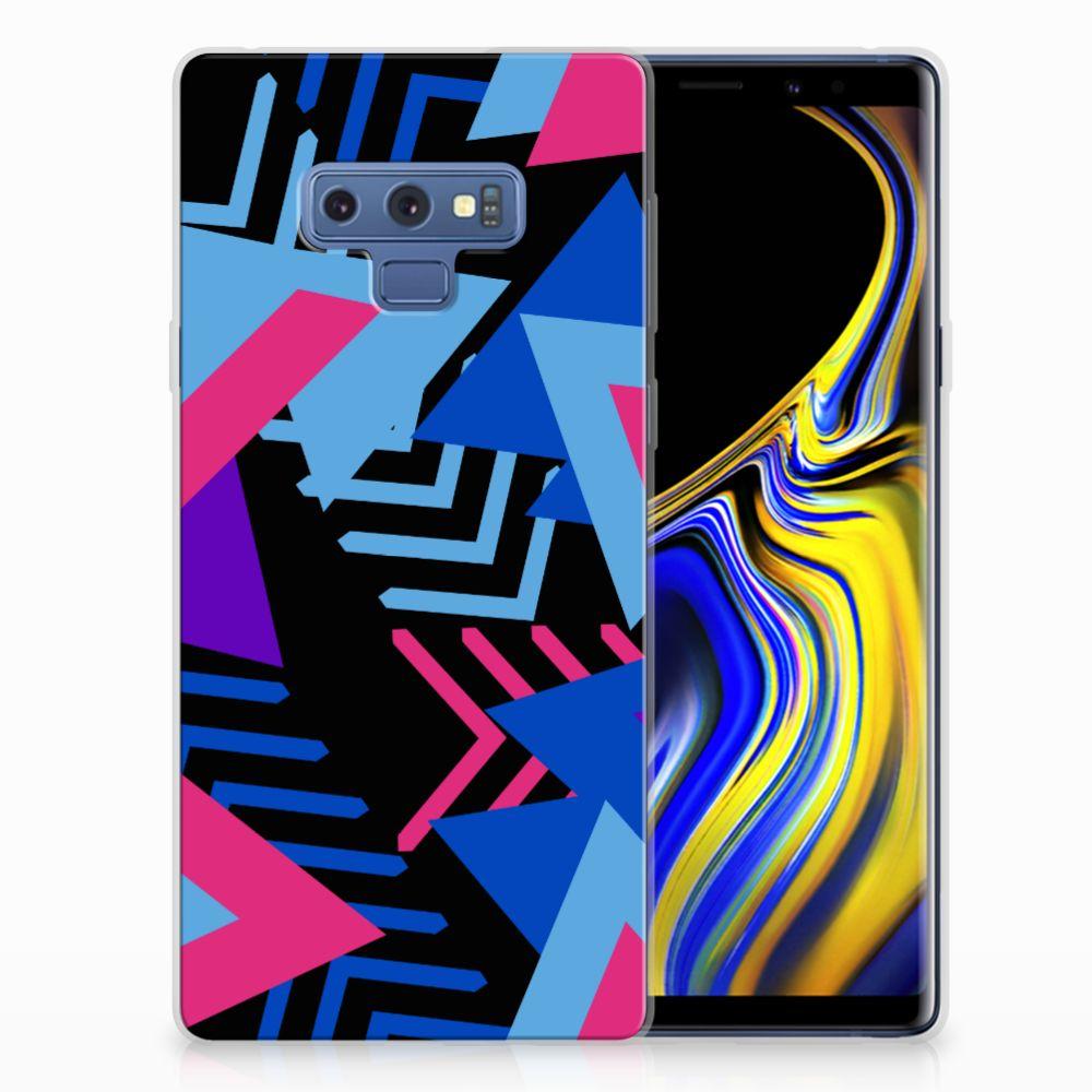 Samsung Galaxy Note 9 TPU Hoesje Funky Triangle