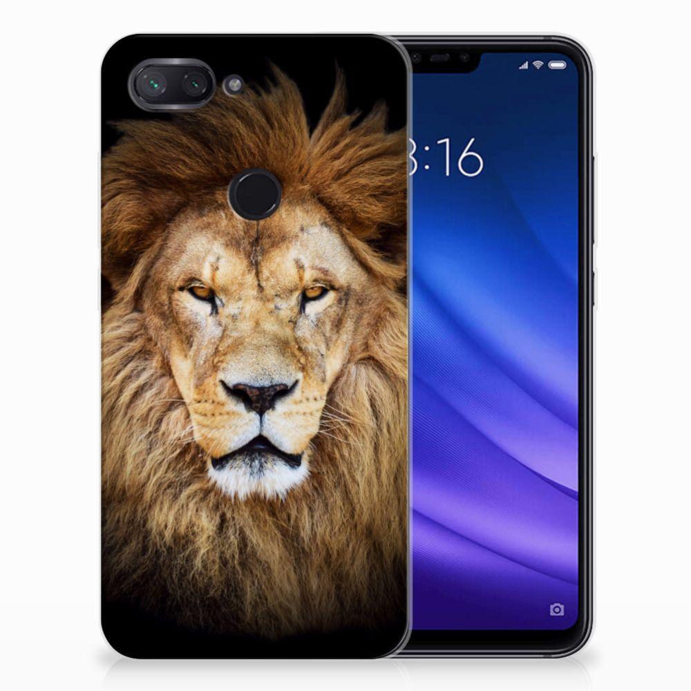 Xiaomi Mi 8 Lite TPU Hoesje Leeuw