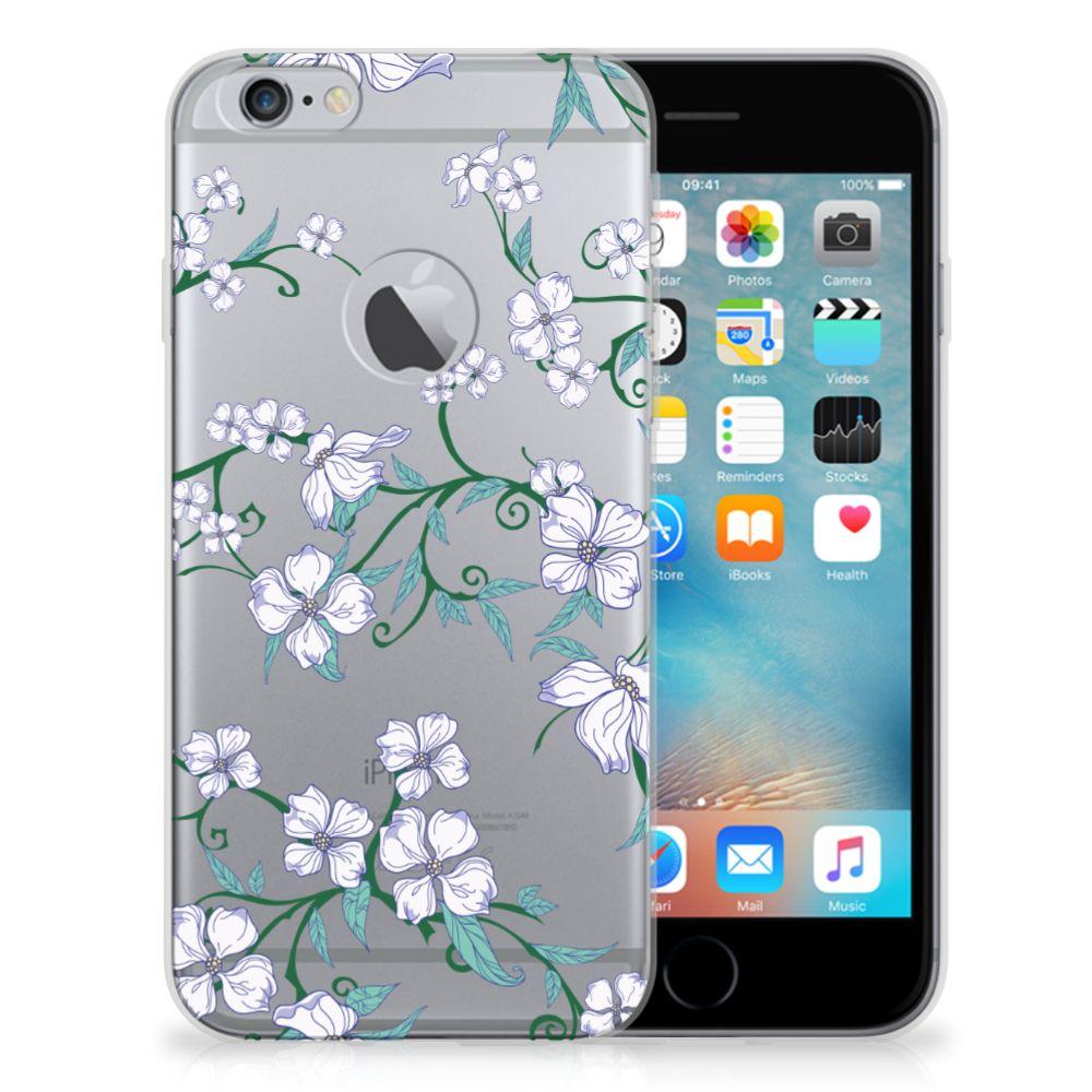 Apple iPhone 6 Plus | 6s Plus Uniek TPU Case Blossom White