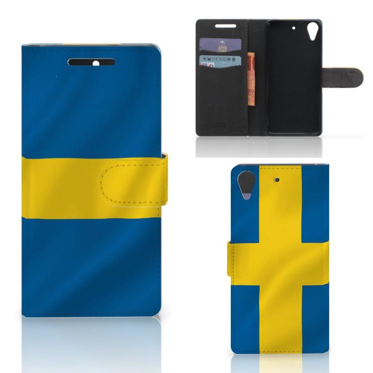 HTC Desire 628 Bookstyle Case Zweden