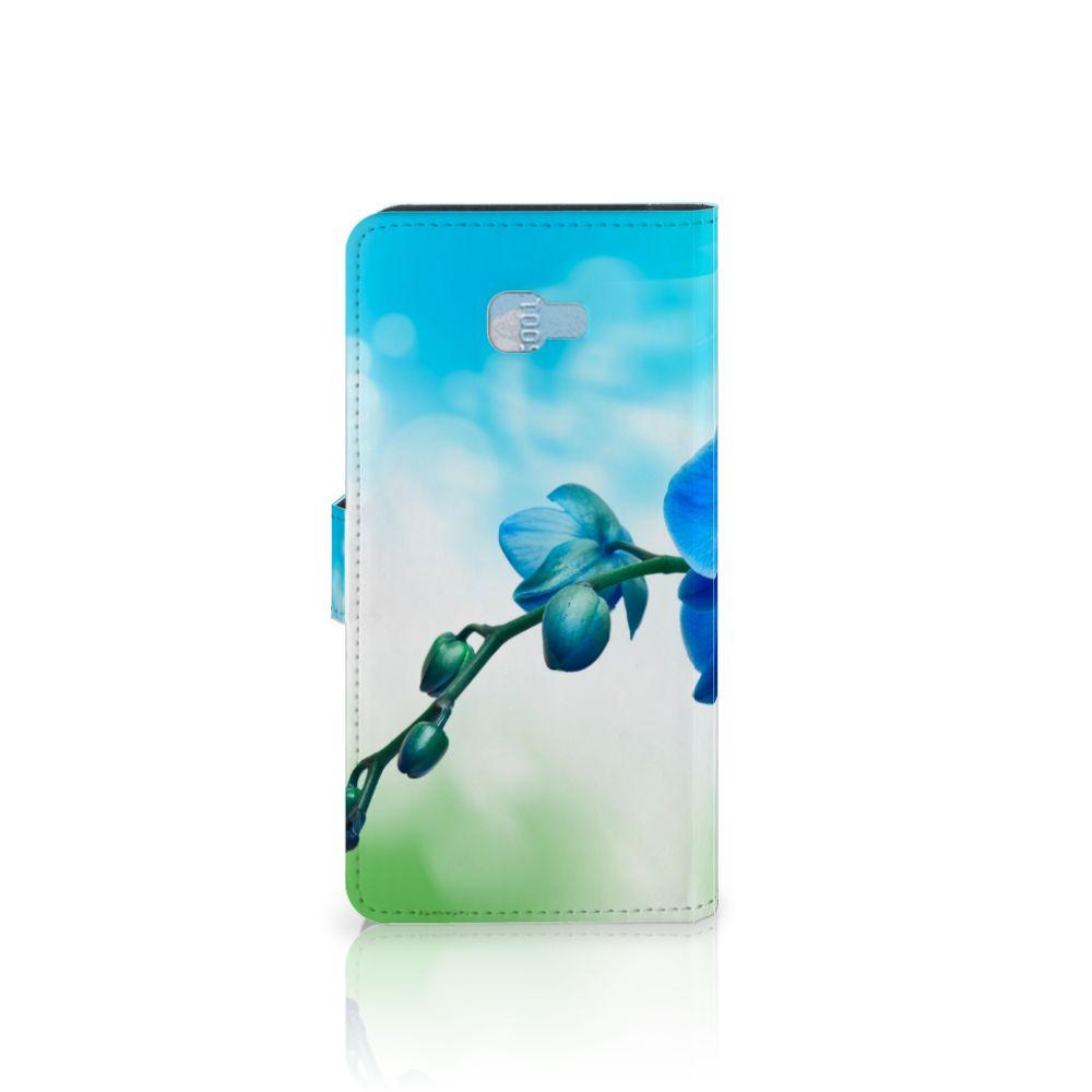 Samsung Galaxy J4 Plus (2018) Hoesje Orchidee Blauw