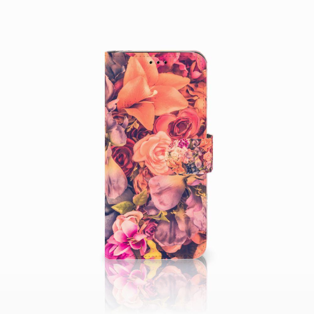 Samsung Galaxy J6 2018 Boekhoesje Design Bosje Bloemen