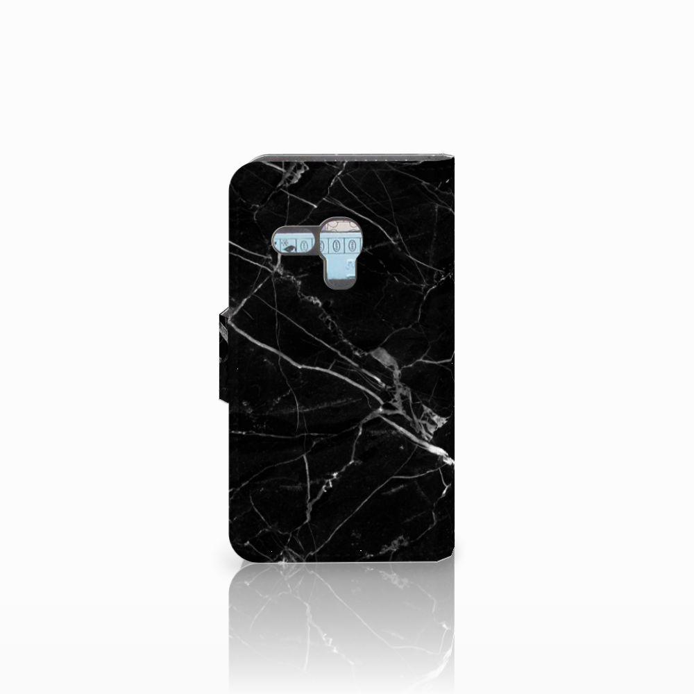 Samsung Galaxy S3 Mini Bookcase Marmer Zwart