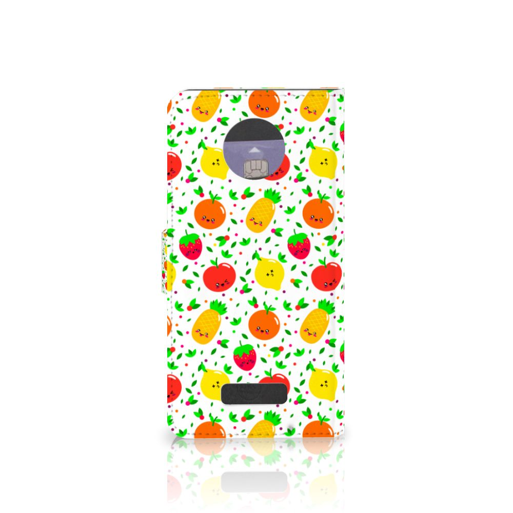 Motorola Moto Z Book Cover Fruits