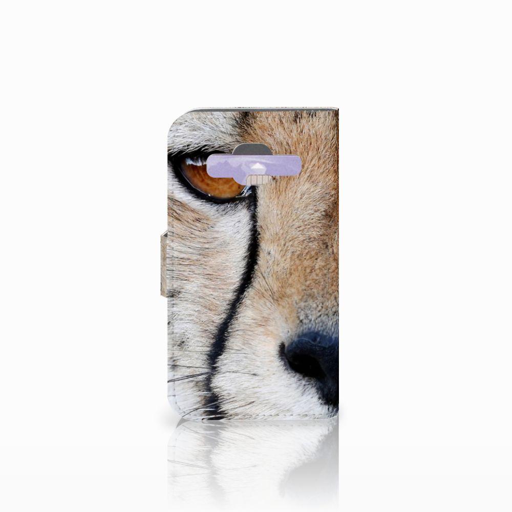 Samsung Galaxy Core Prime Telefoonhoesje met Pasjes Cheetah