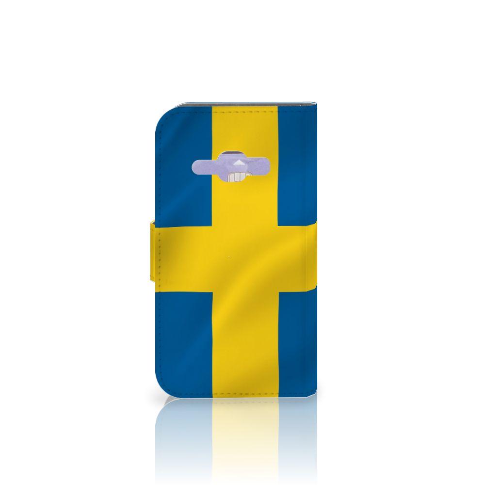 Samsung Galaxy J1 2016 Bookstyle Case Zweden