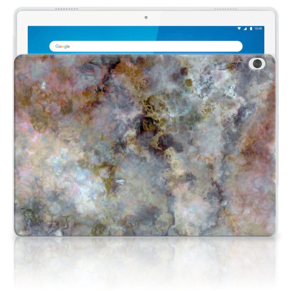Lenovo Tab M10 Tablet Back Cover Marmer Grijs