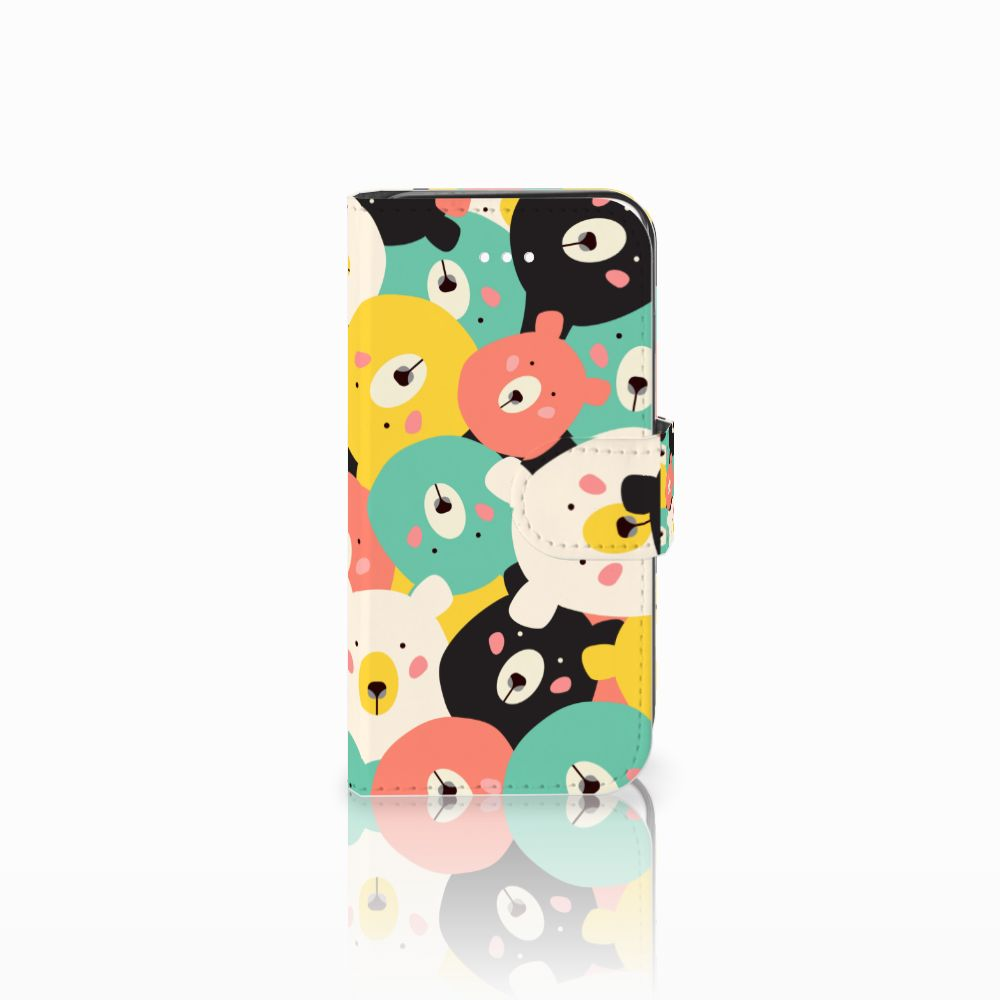 Apple iPhone 5 | 5s | SE Uniek Boekhoesje Bears