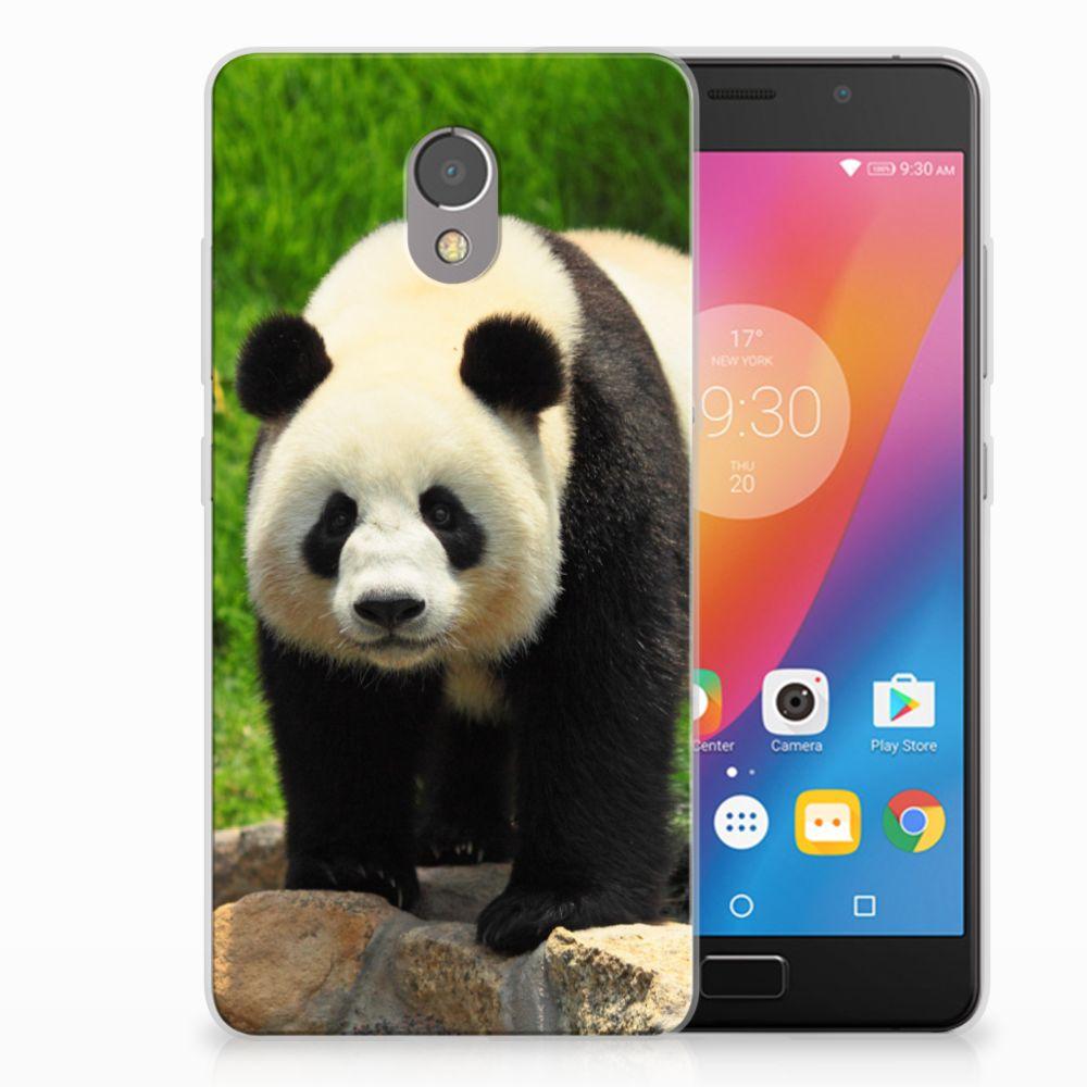 Lenovo P2 TPU Hoesje Design Panda