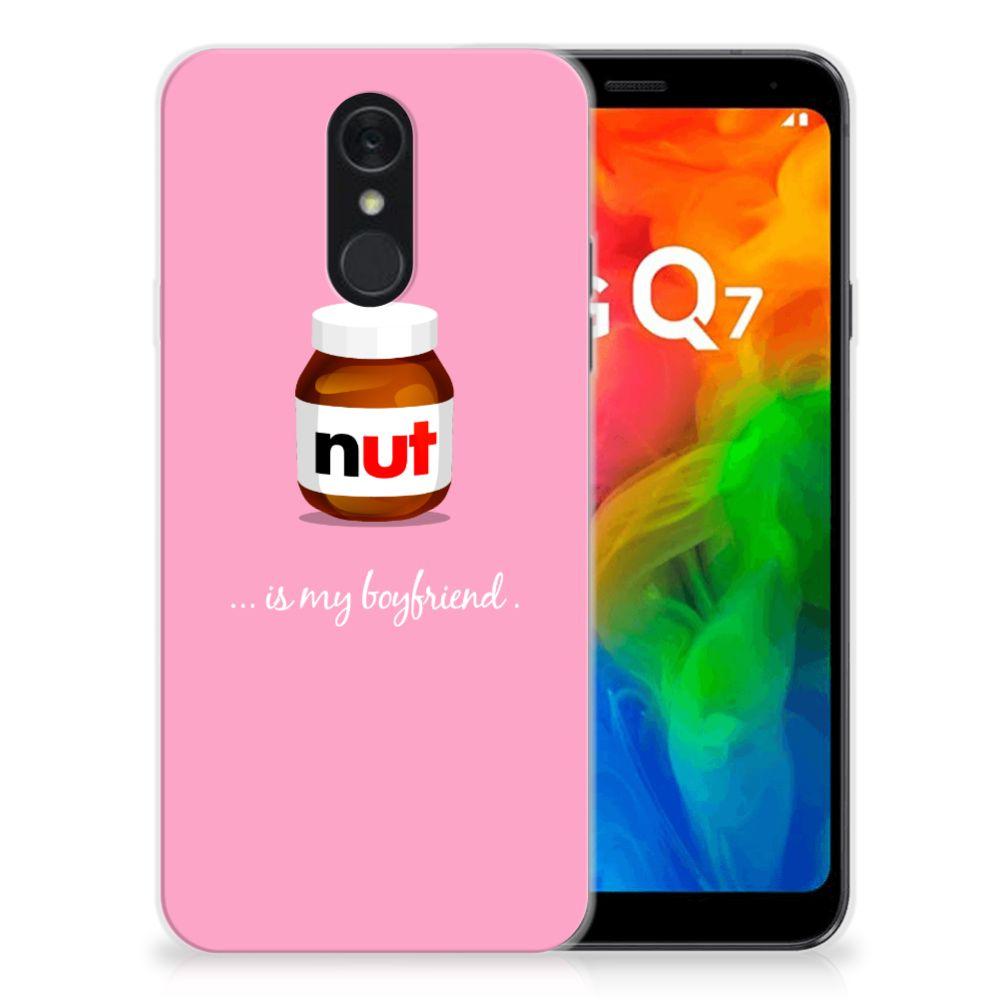 LG Q7 Siliconen Case Nut Boyfriend