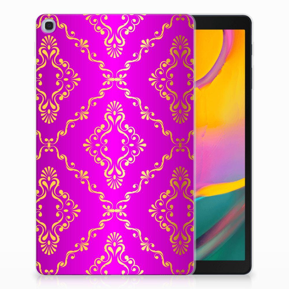 Samsung Galaxy Tab A 10.1 (2019) Uniek Tablethoesje Barok Roze