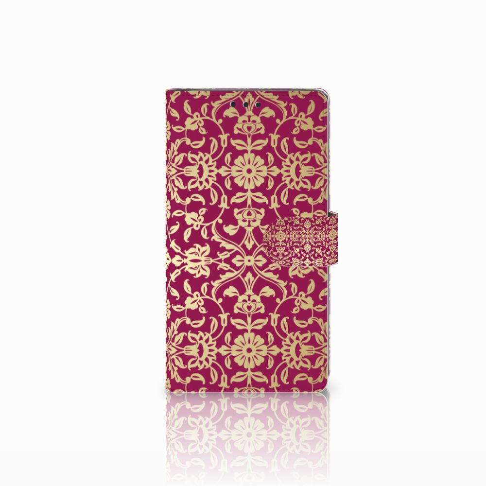 Wallet Case Sony Xperia XA2 Ultra Barok Pink