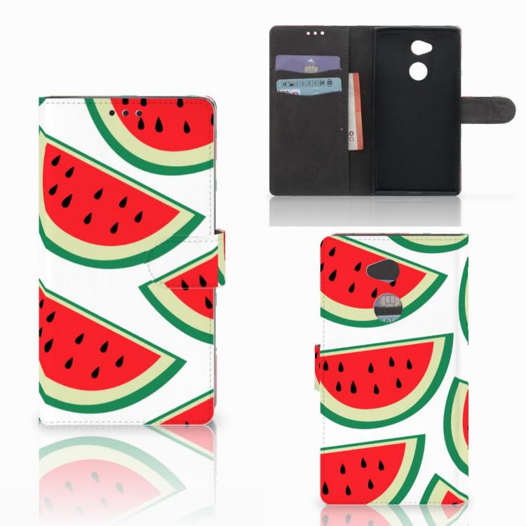 Sony Xperia XA2 Ultra Book Cover Watermelons