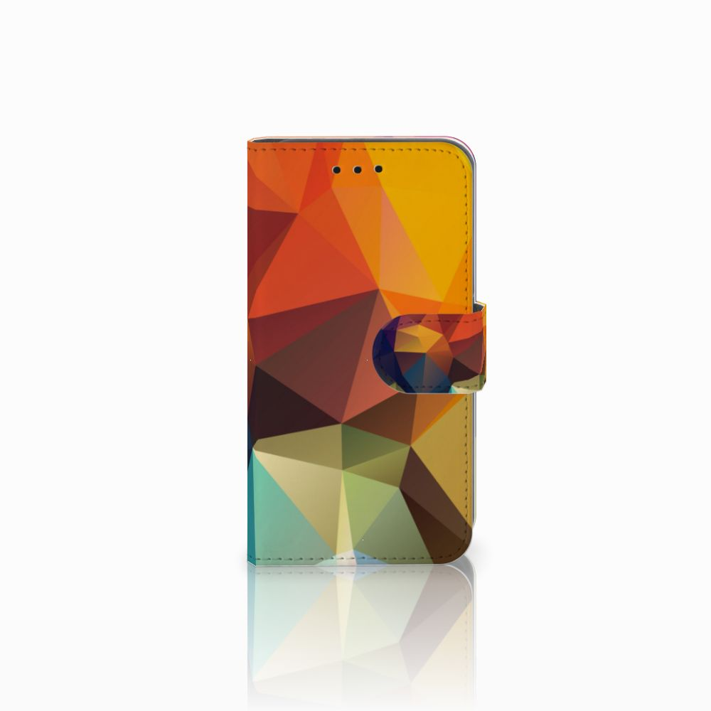 Microsoft Lumia 550 Boekhoesje Design Polygon Color