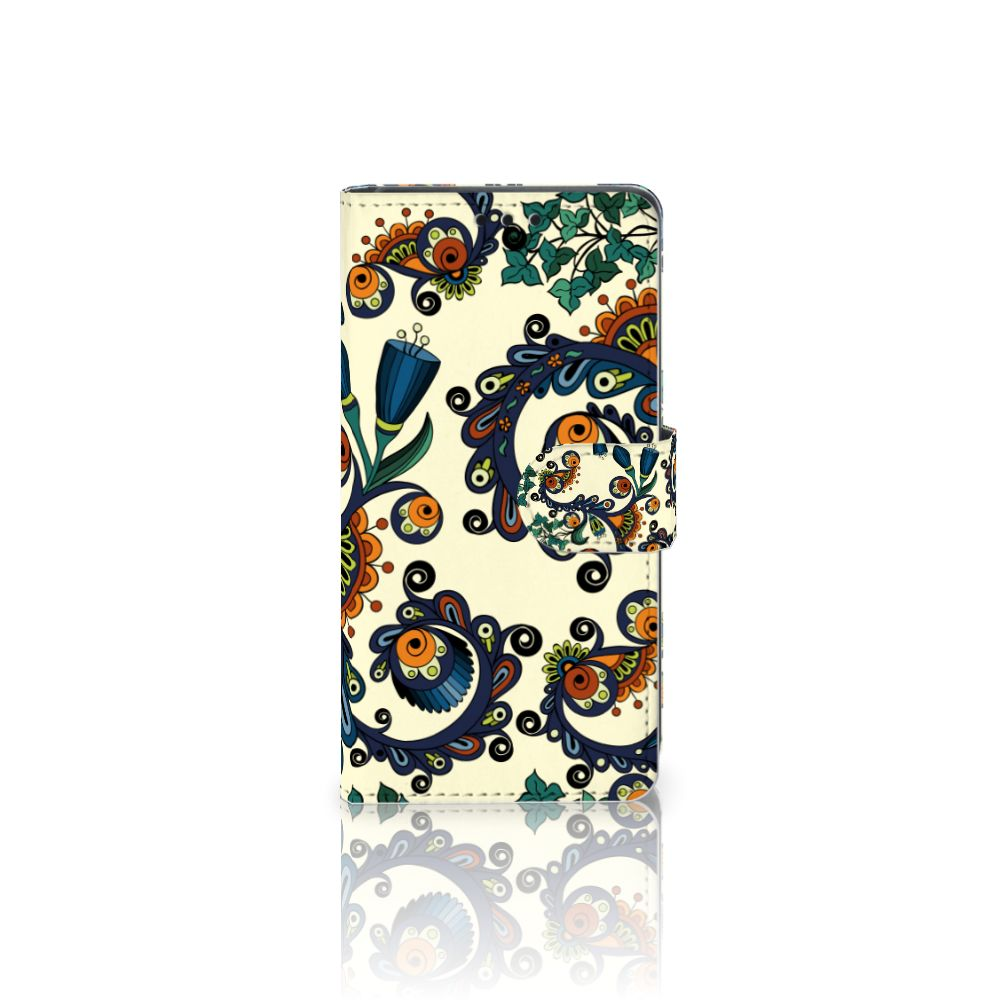 Wallet Case Sony Xperia Z5 | Z5 Dual Barok Flower