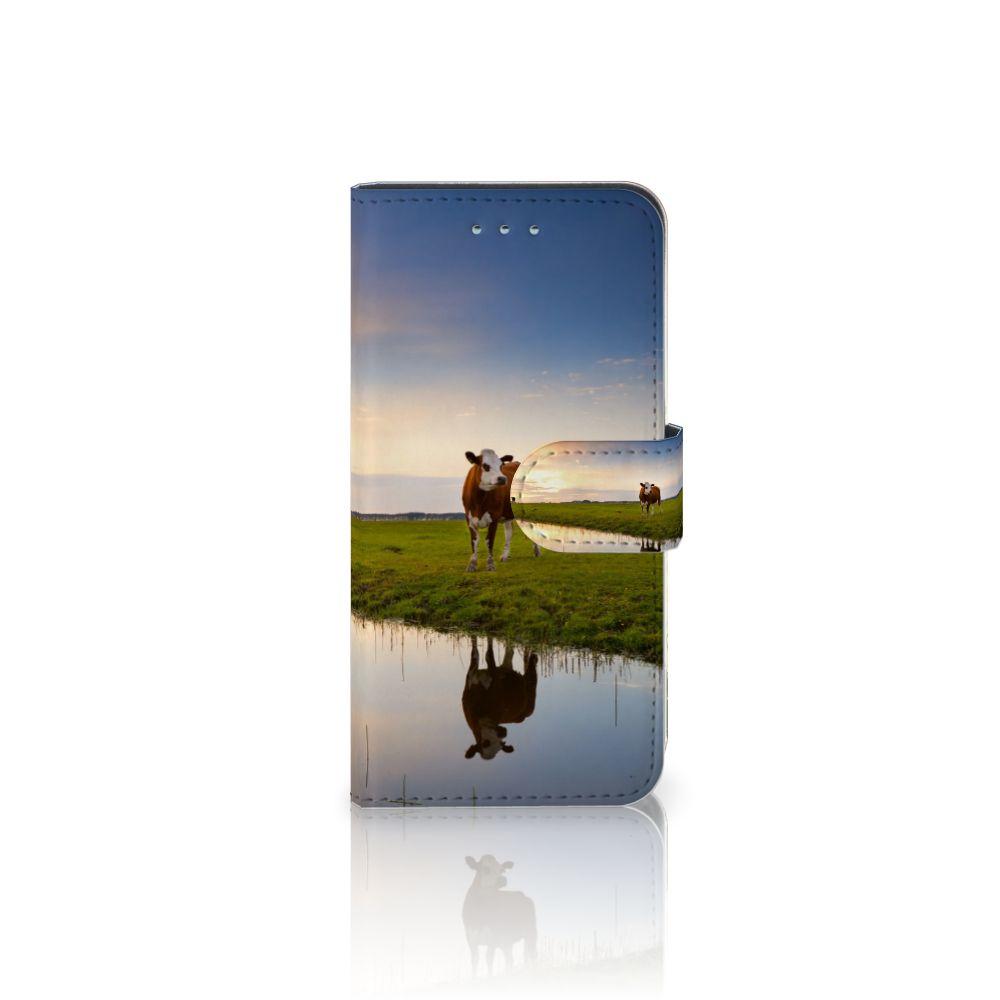 Samsung Galaxy S6 | S6 Duos Boekhoesje Design Koe