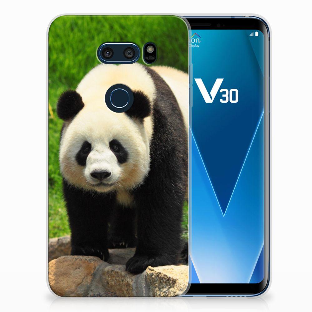 LG V30 TPU Hoesje Panda