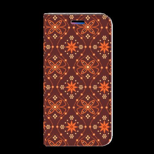 Apple iPhone X | Xs Uniek Standcase Hoesje Batik Brown