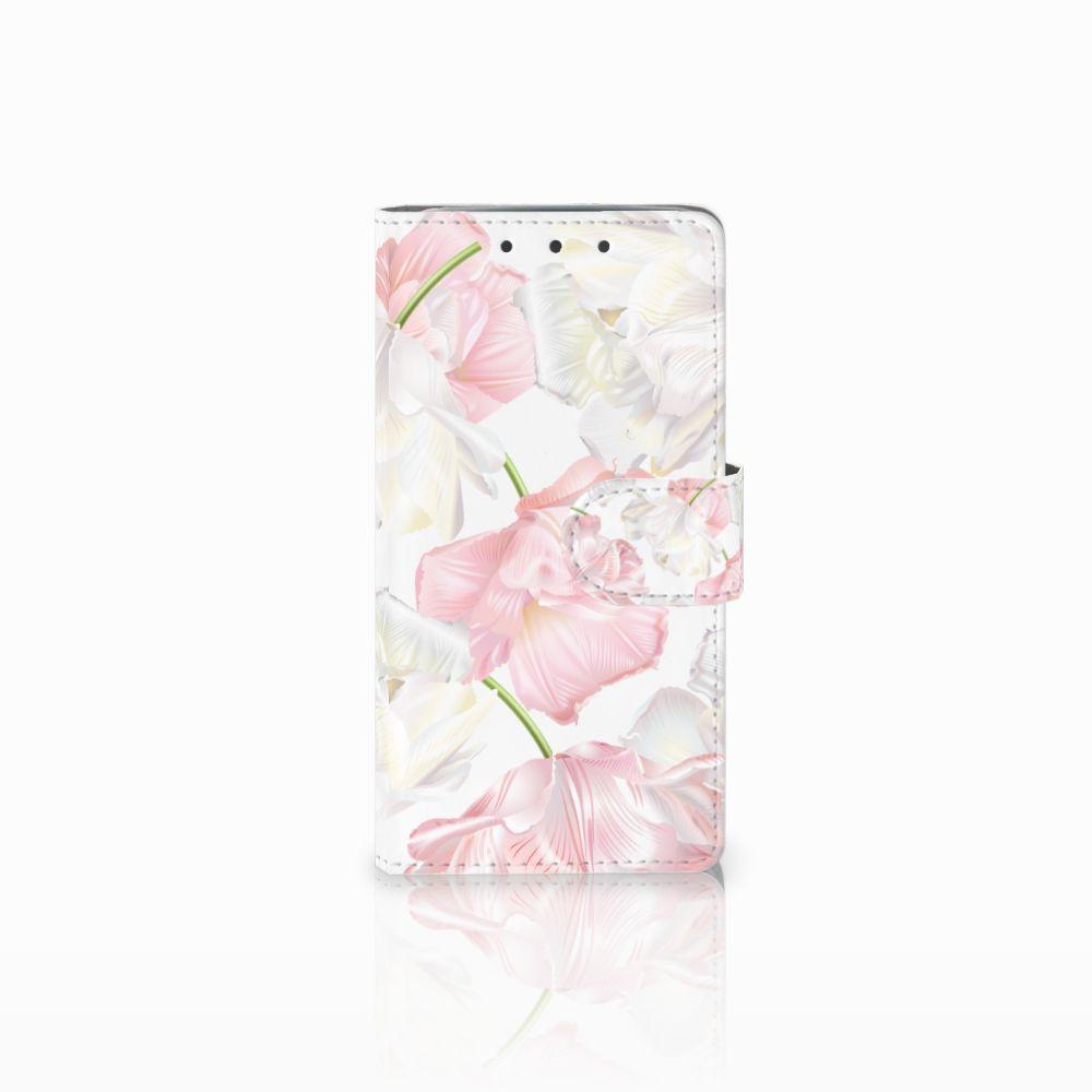 HTC One M7 Boekhoesje Design Lovely Flowers