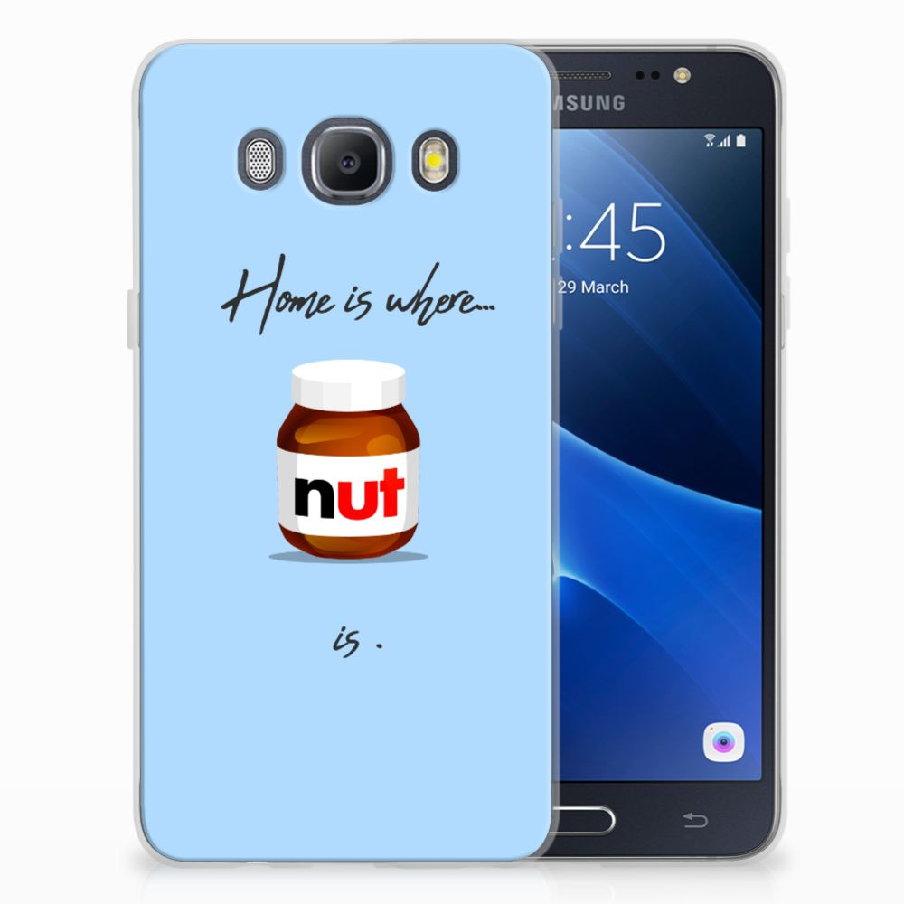 Samsung Galaxy J5 2016 Siliconen Case Nut Home