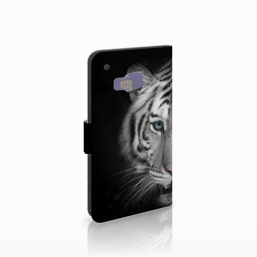 HTC One M9 Telefoonhoesje met Pasjes Tijger