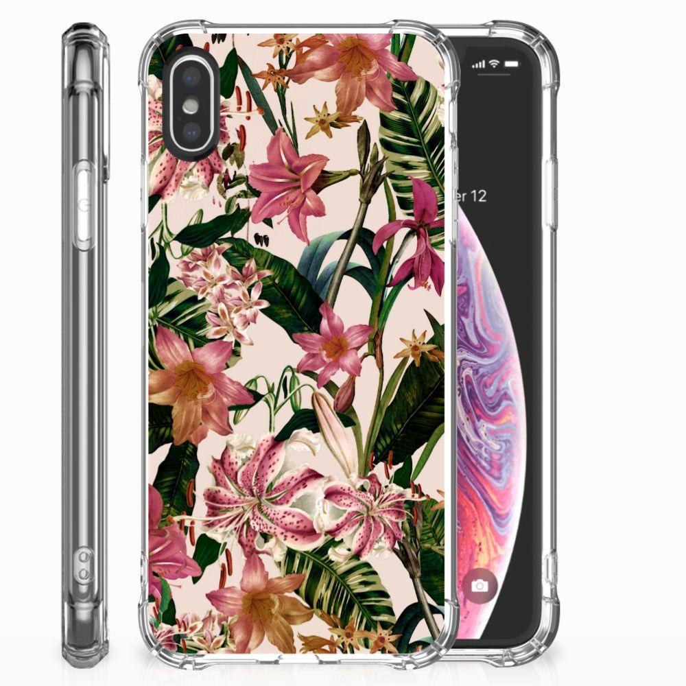 Apple iPhone X | Xs Case Flowers