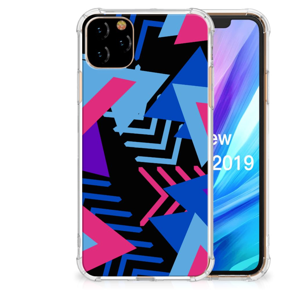 Apple iPhone 11 Pro Max Shockproof Case Funky Triangle