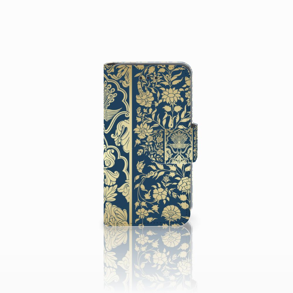 Nokia Lumia 530 Boekhoesje Golden Flowers