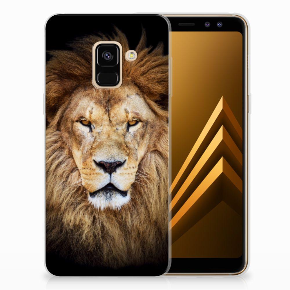 Samsung Galaxy A8 (2018) TPU Hoesje Design Leeuw