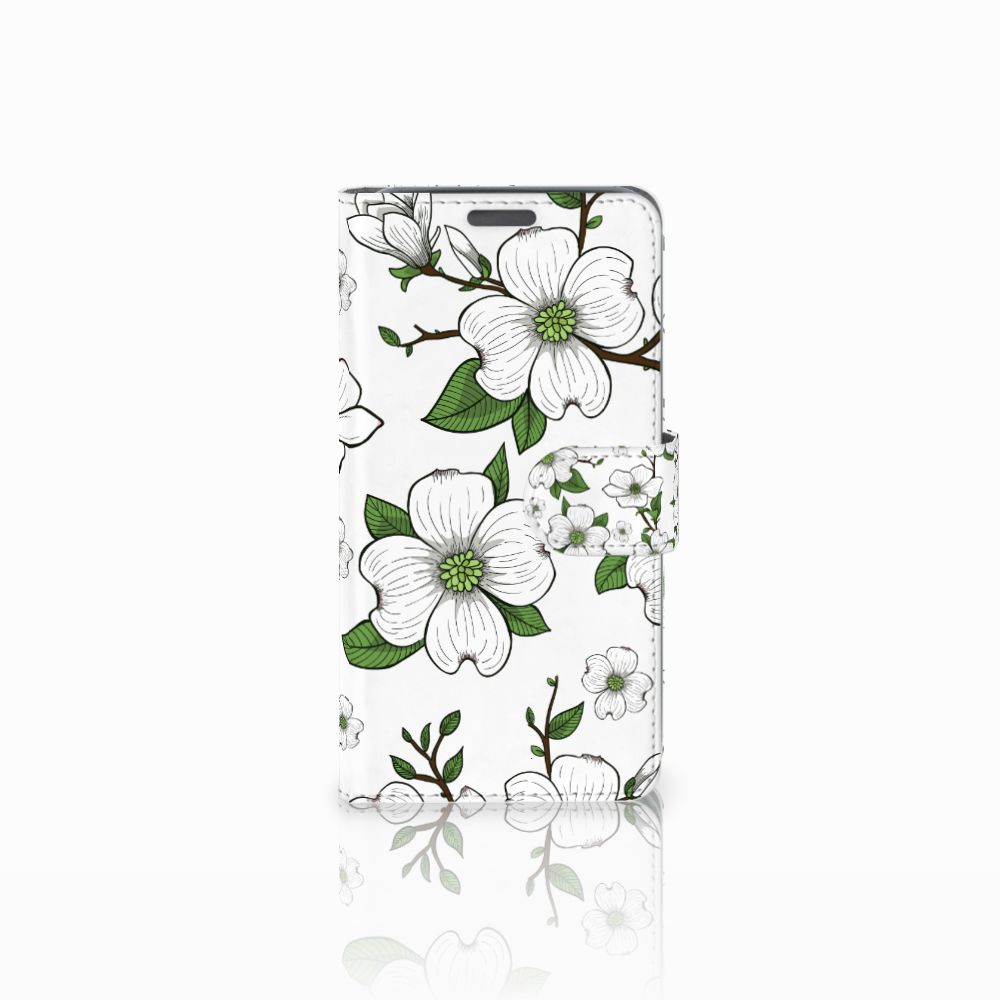 Wiko Lenny Boekhoesje Design Dogwood Flowers